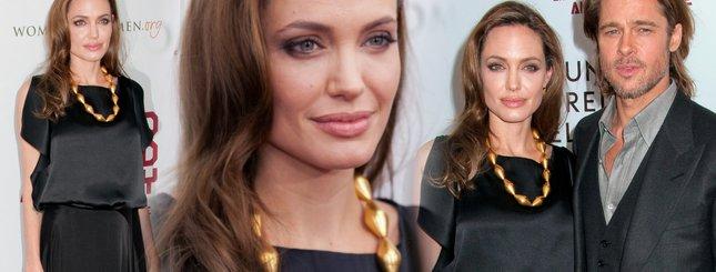Angelina Jolie na premierze swojego filmu (FOTO)