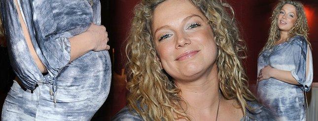 Imponujący brzuszek Joanny Liszowskiej (FOTO)