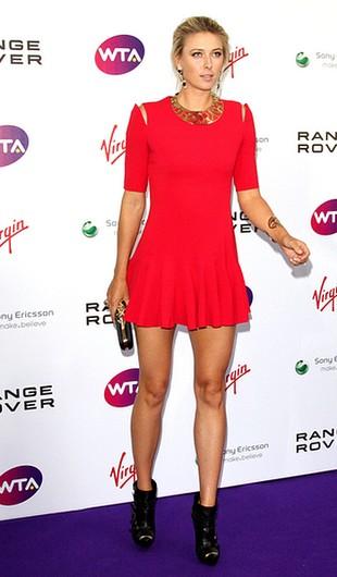 Maria Sharapova pokazała świetne nogi (FOTO)