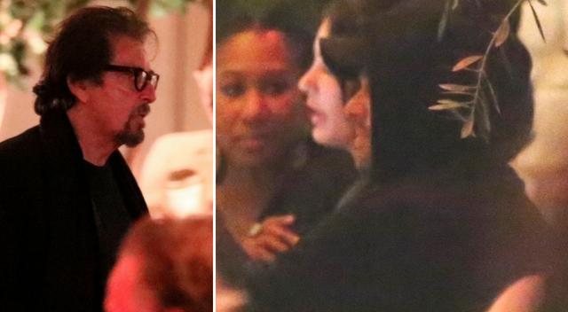 Al Pacino i Leonardo Dicaprio na podwójnej randce z modelkami! (ZDJĘCIA)