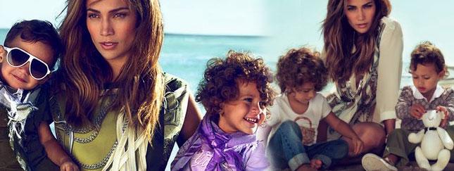 Jennifer Lopez wciągnęła dzieci do reklamy Gucci (FOTO)