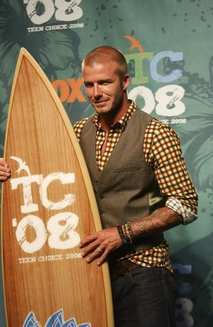 David Beckham najlepiej umięśniony