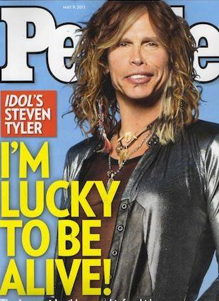 Steven Tyler nie potrzebuje już narkotyków