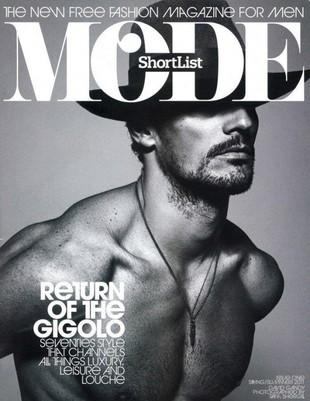 David Gandy na okładce magazynu dla mężczyzn (FOTO)