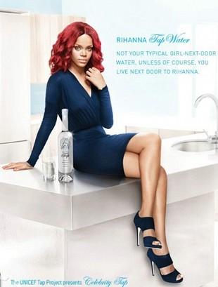 Kolejna reklama wody z kranu – tym razem z Rihanną (VIDEO)