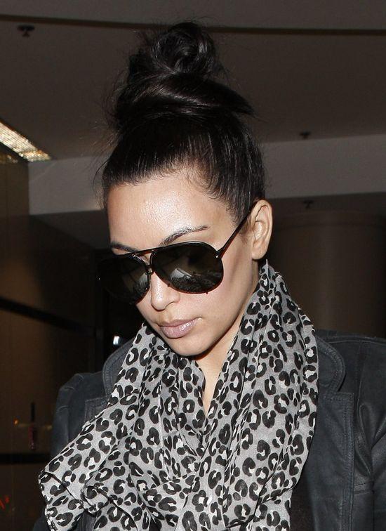 Kim Kardashian myje włosy raz na 5 dni