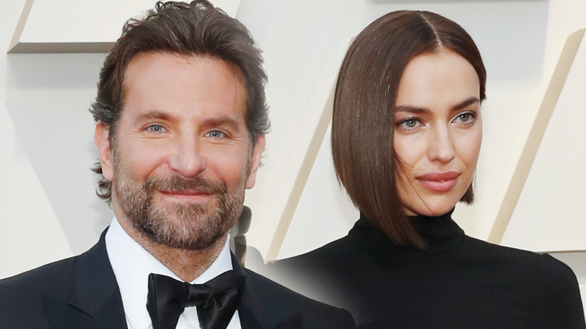 Bradley Cooper i Irina Shayk na Oscarach po plotkach o romansie aktora z Lady Gagą