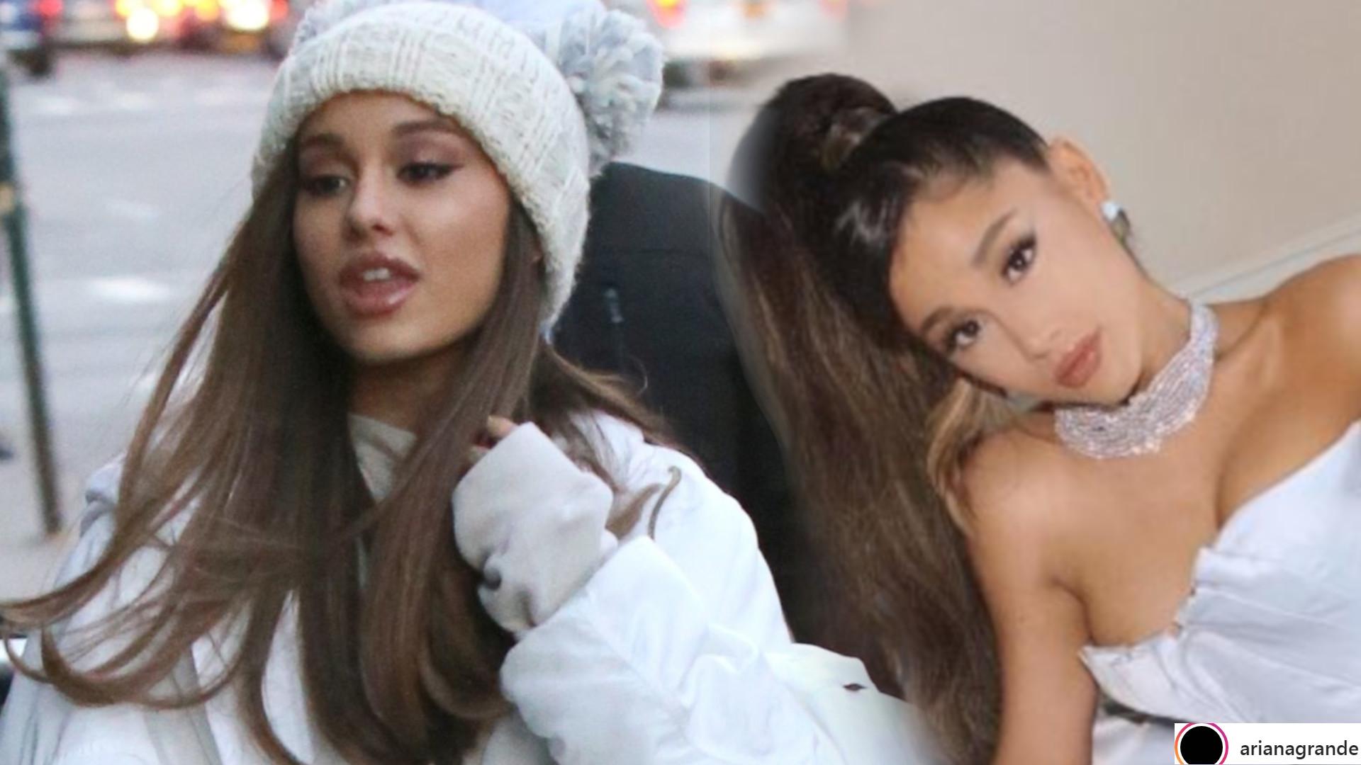 Ariana Grande pokazała SUKIENKĘ, w której miała być na Grammy – aż ŻAL patrzeć