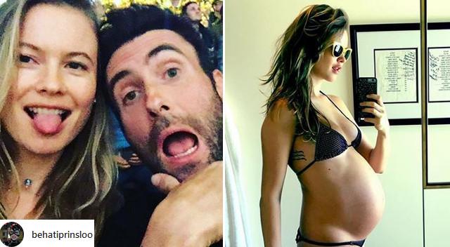 Adam Levine i Behati Prinsloo pokazali pierwsze zdjęcie dziecka (Instagram)