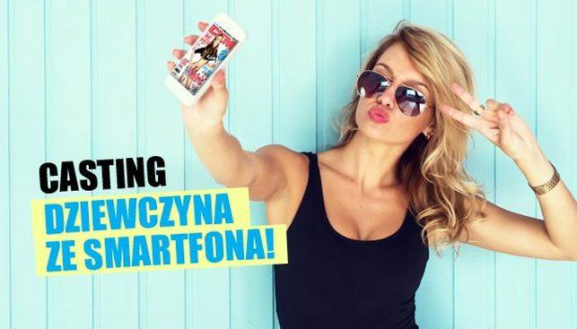 Magazyn CKM ogłosił konkurs na Dziewczynę ze smartfona