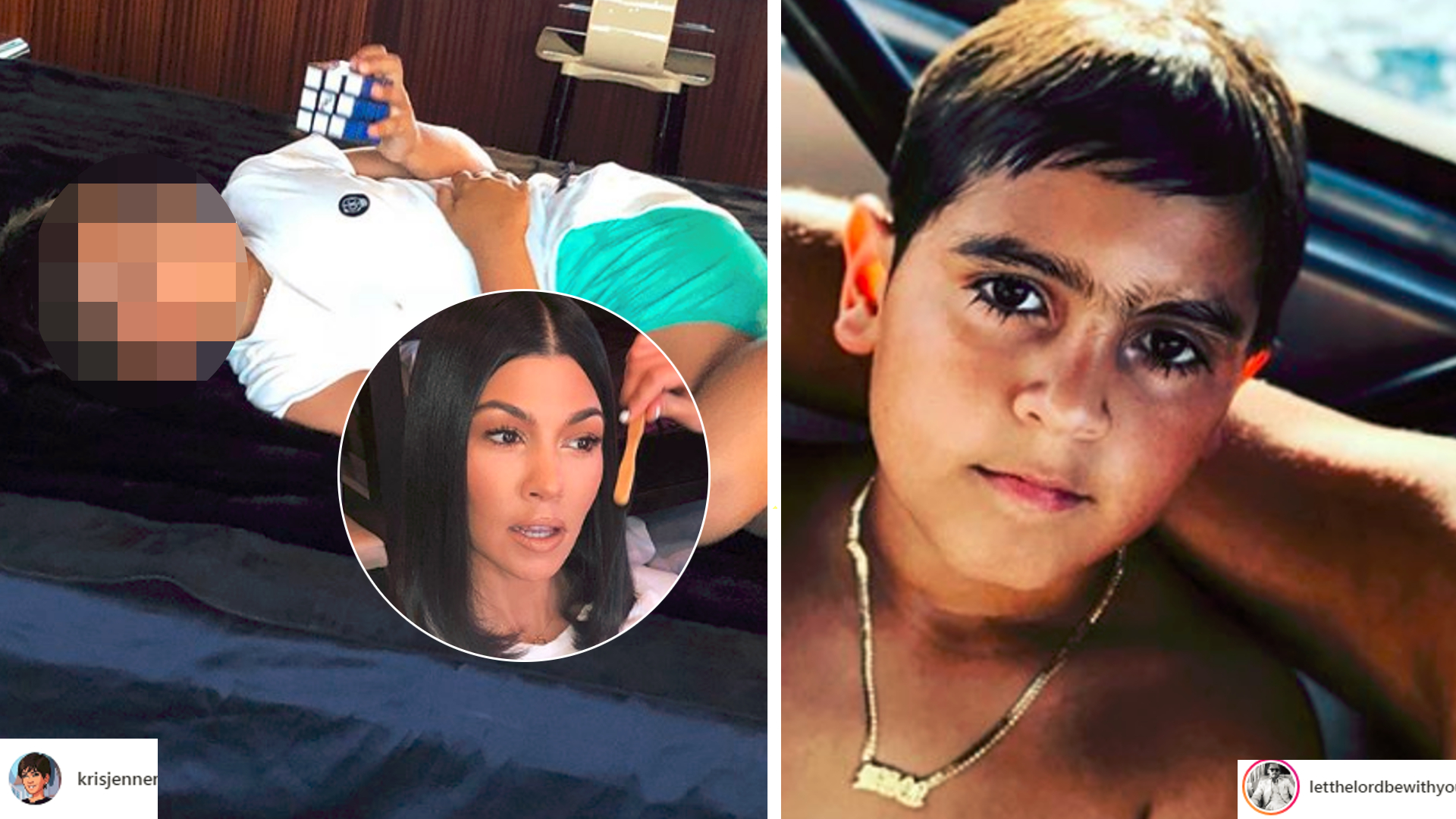 Kourtney Kardashian w końcu zrobiła TO synowi! Fani nie mieli litości!