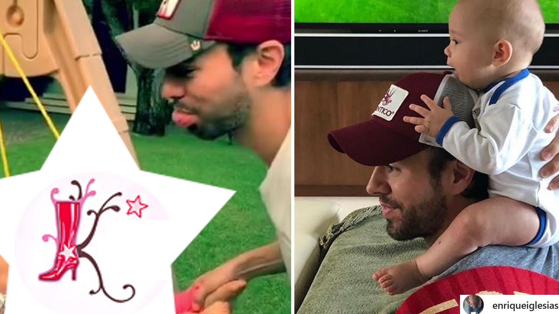 Enrique Iglesias pokazał NOWY filmik z bliźniakami – zobaczcie, jak urosły