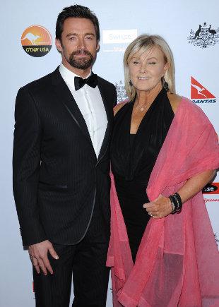 Żonę Hugh Jackmana wkurzają pogłoski, że aktor jest gejem