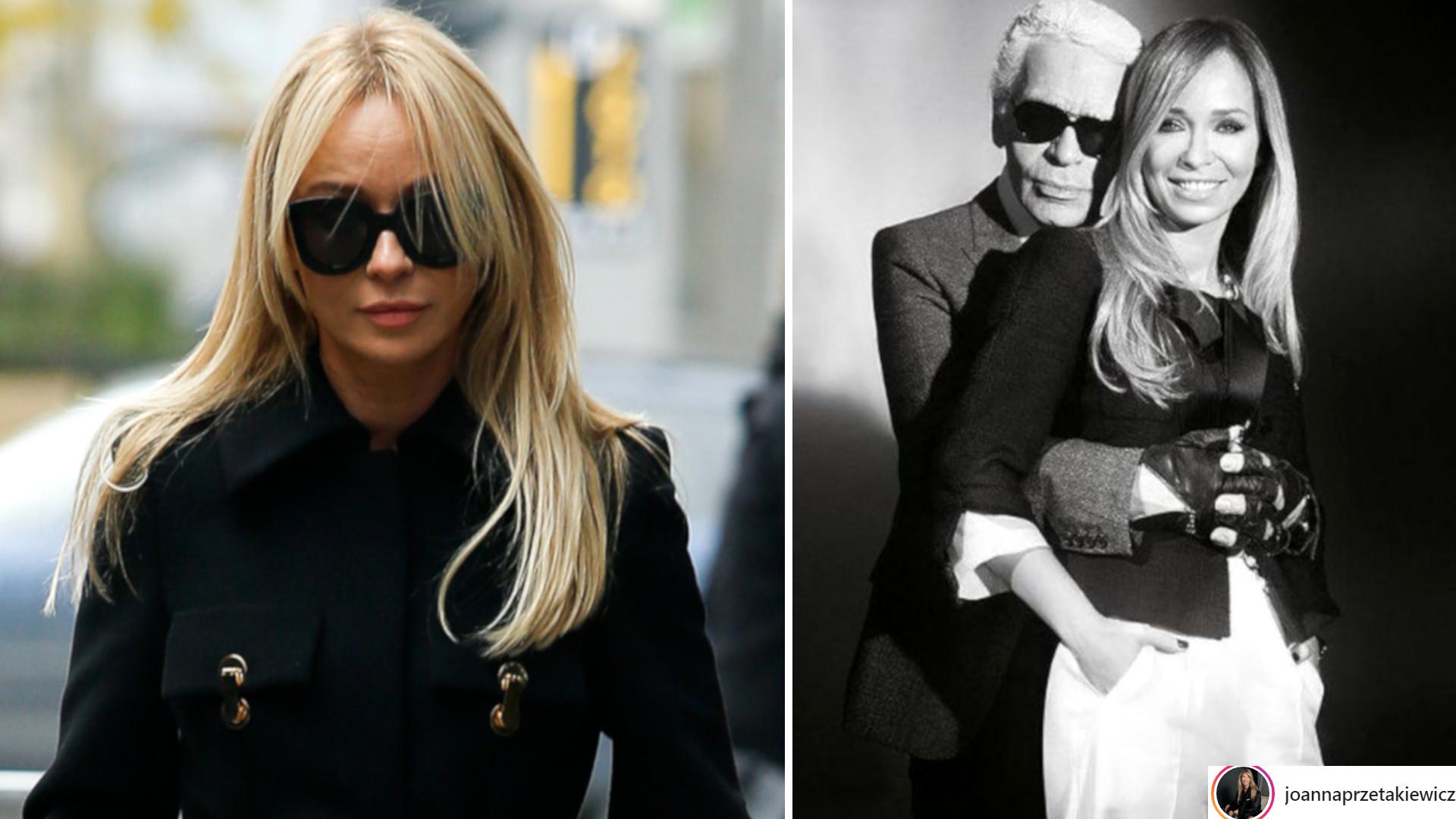 Joanna Przetakiewicz żegna Lagerfelda – przyjaźnili się przez lata