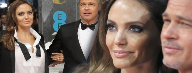 Angelina Jolie w garniturze na gali  BAFTA 2014 [VIDEO]