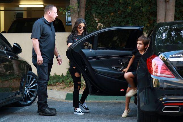 Kourtney Kardashian nie radzi sobie z Masonem? (FOTO)