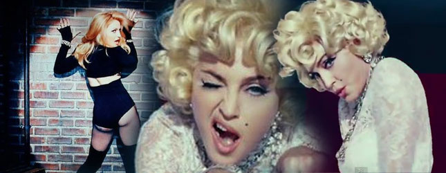 Madonna jak Marilyn w teledysku Give Me All Your Luvin'