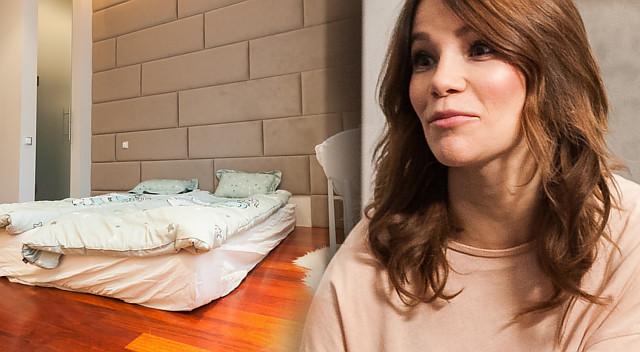Maja Bohosiewicz nie miała w domu łóżka z prawdziwego zdarzenia