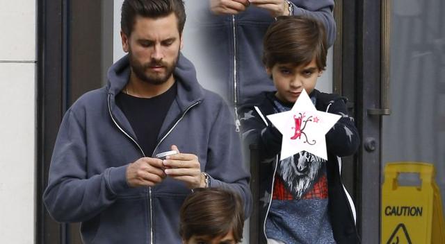 Czy Scott Disick nie powinien się zainteresować tym, co robi jego syn? (FOTO)