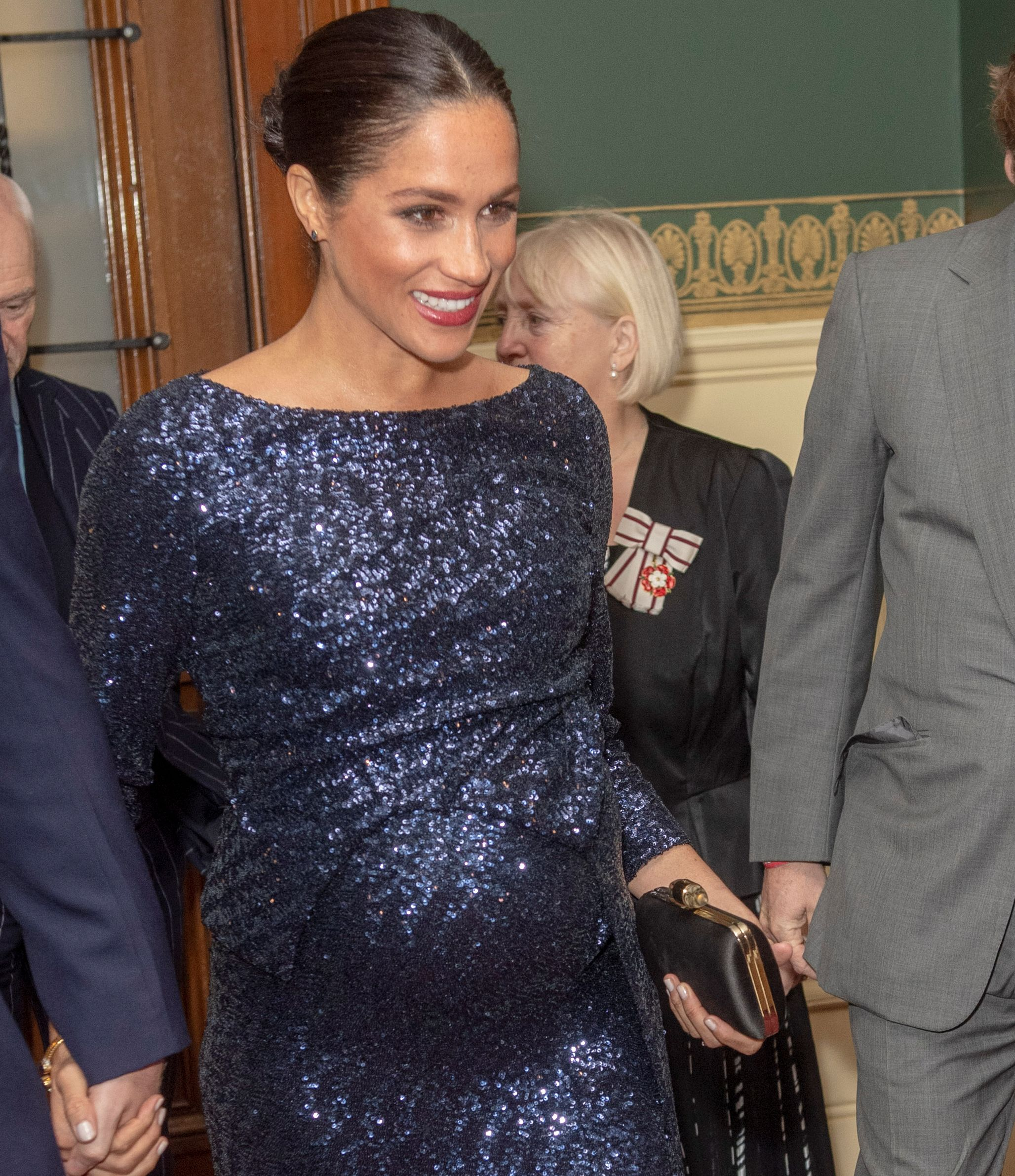 Meghan, Duchess of Sussex attends the premiere of Cirque du Soleil's 'Totem' at the Royal Albert Hall in London