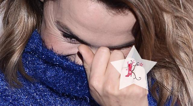 Czy ten pierścionek na serdecznym palcu Olgi Bołądź coś oznacza? (ZDJĘCIA)