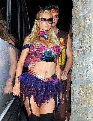 Paris Hilton przebiła Kim przebraniem na Halloween (FOTO)