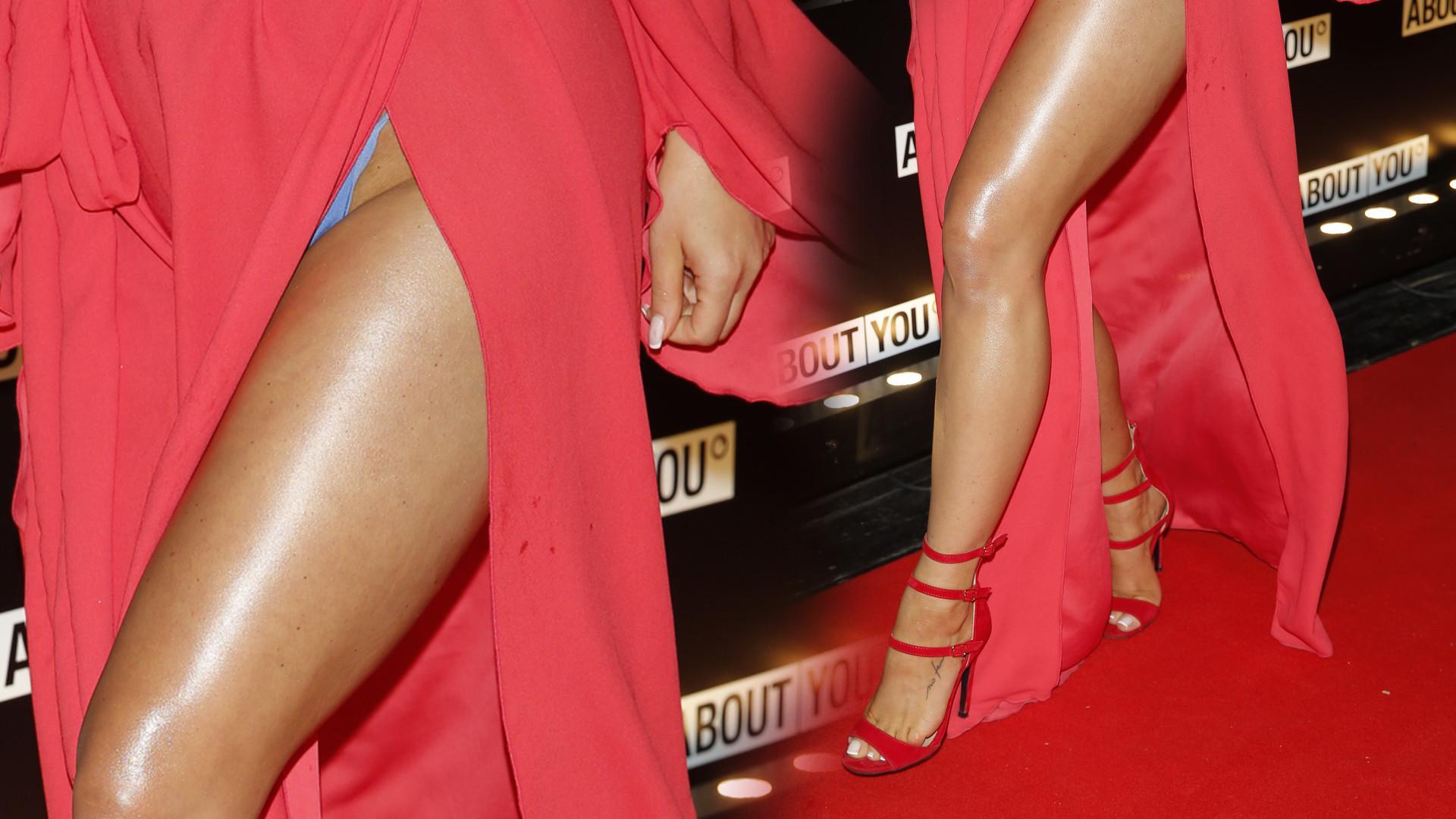 Polska Jennifer Lopez zaliczyła wpadkę z sukienką (ZDJĘCIA)