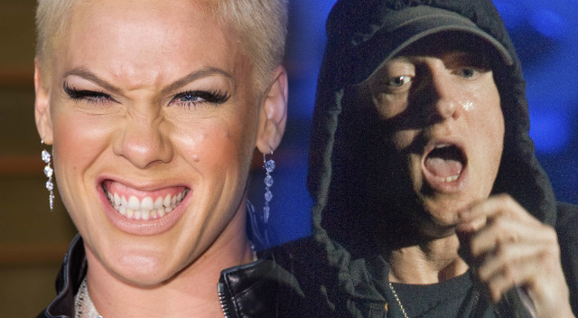 Pijana Pink wypisuje do Eminema. Jego odpowiedź zwala z nóg