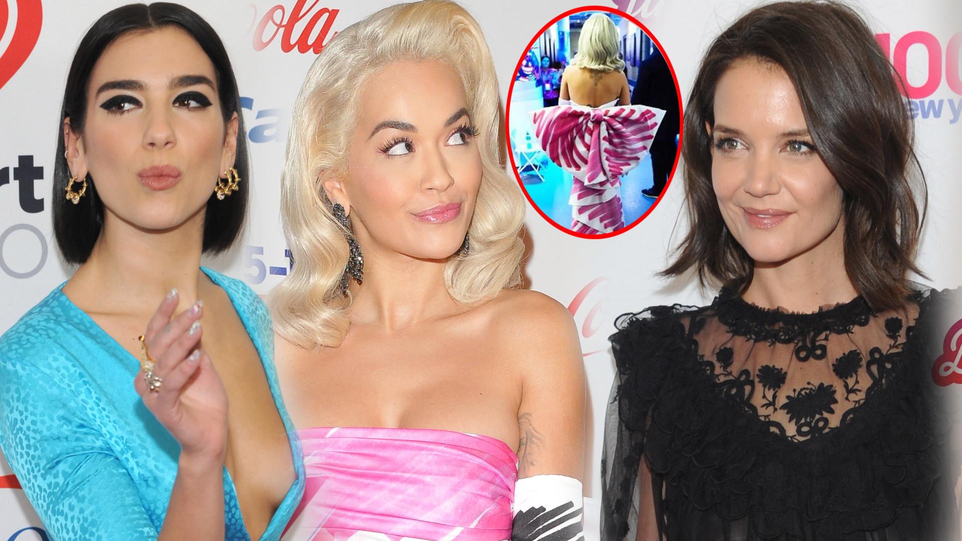Rita Ora POŁOŻYŁA konkurencję na gali Jingle Bell Ball 2018 (ZDJĘCIA)