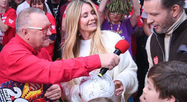 Majdanowie u Owsiaka – na licytację dali swój ślubny prezent (ZDJĘCIA)