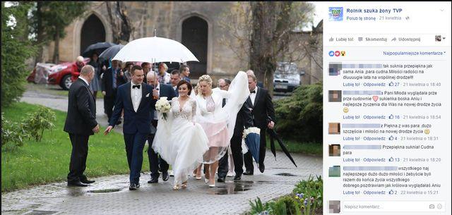 Rolnik szuka żony: Anna Warachim i Grzegorz Bordecki oddali prezenty ślubne!