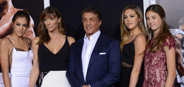 Córki Sylvestra Stallone wyrastają na prawdziwe piękności