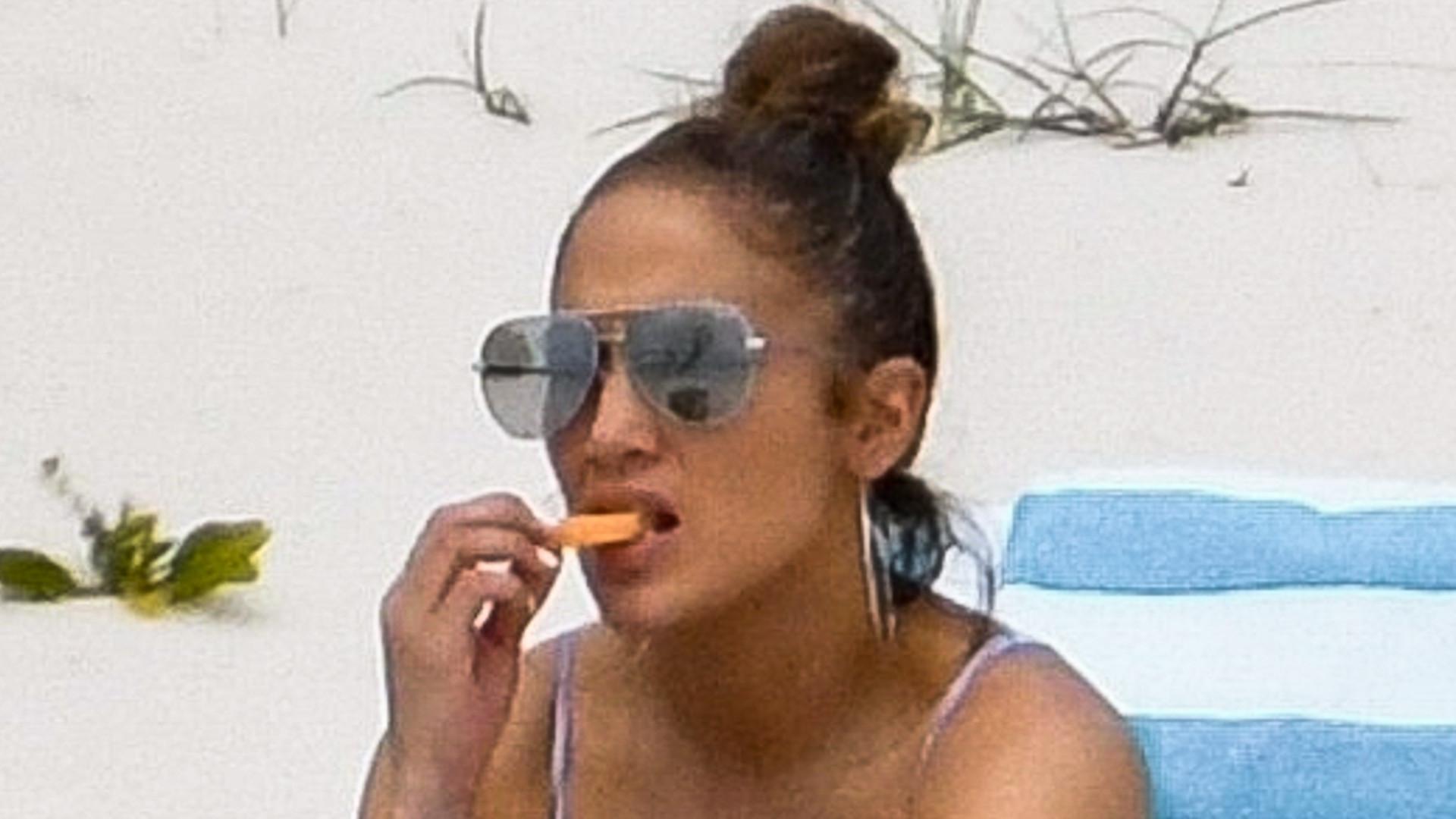 Jennifer Lopez w bikini z narzeczonym – uciekli przed plotkami o zdradzie?