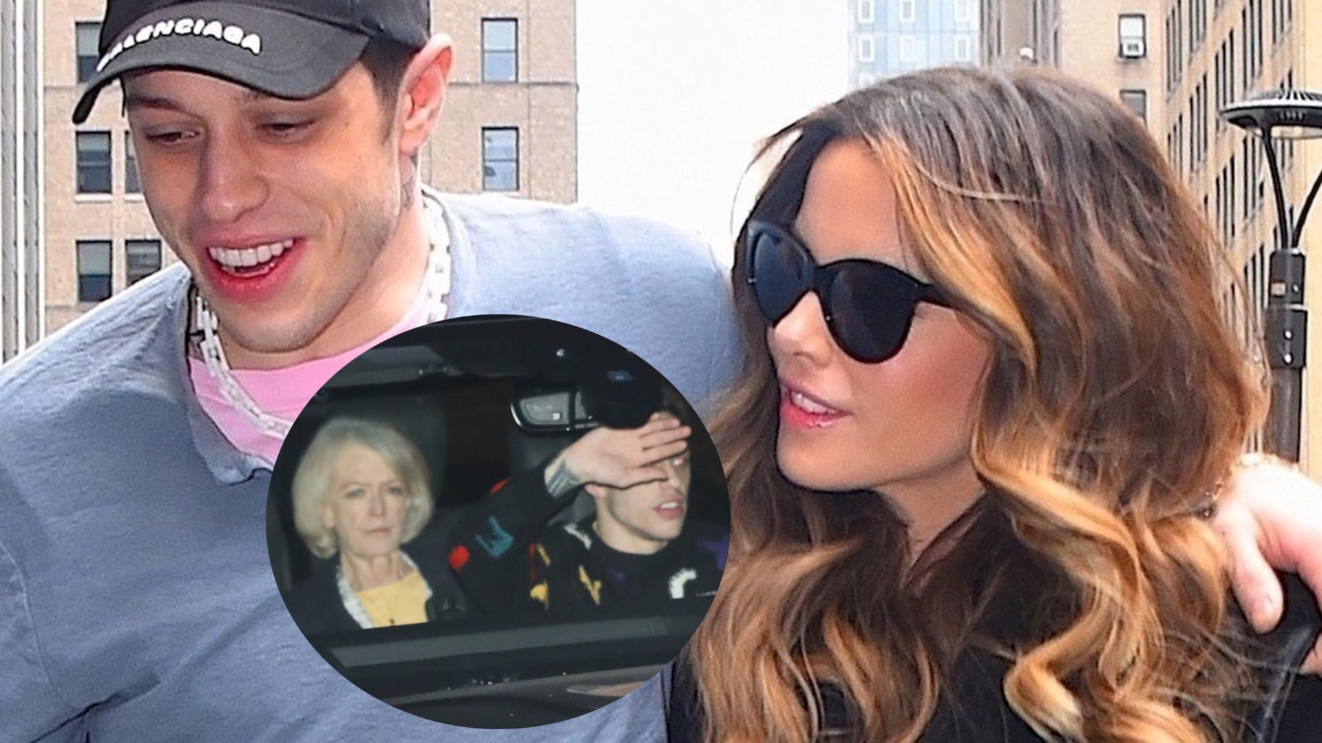 Kate Beckinsale przedstawiła Pete Davidsona rodzicom – poszli razem na kolację do restauracji