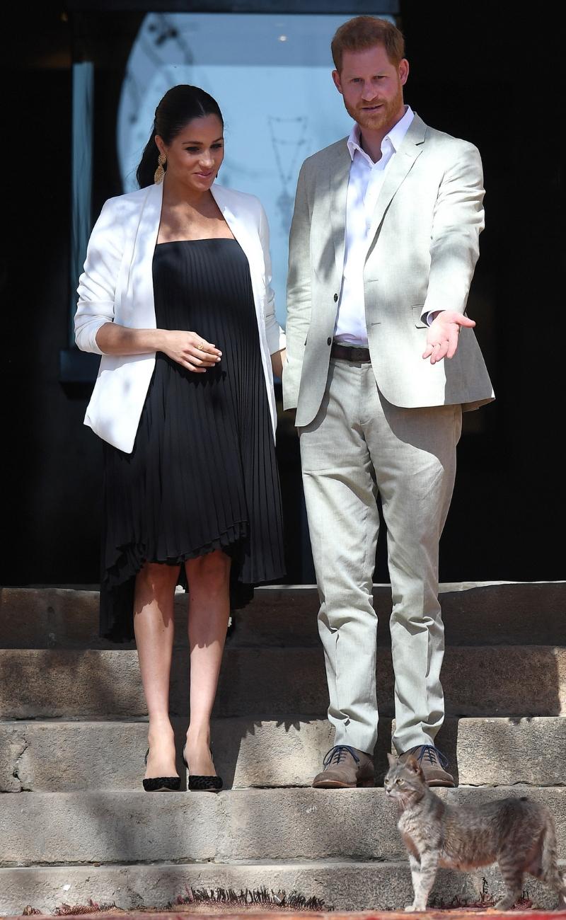 Ciężarna Meghan Markle i książę Harry