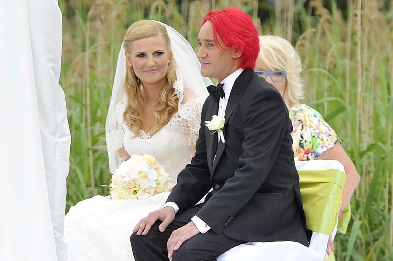 Dominika Tajner, Michał Wiśniewski ślub