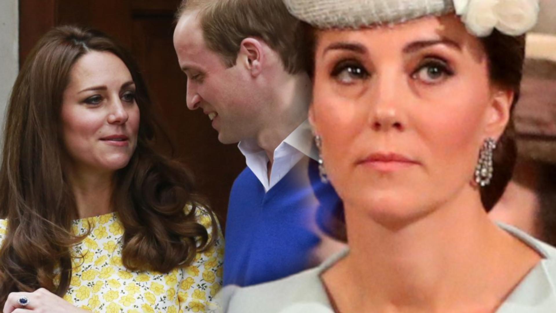 Księżna Kate książę William