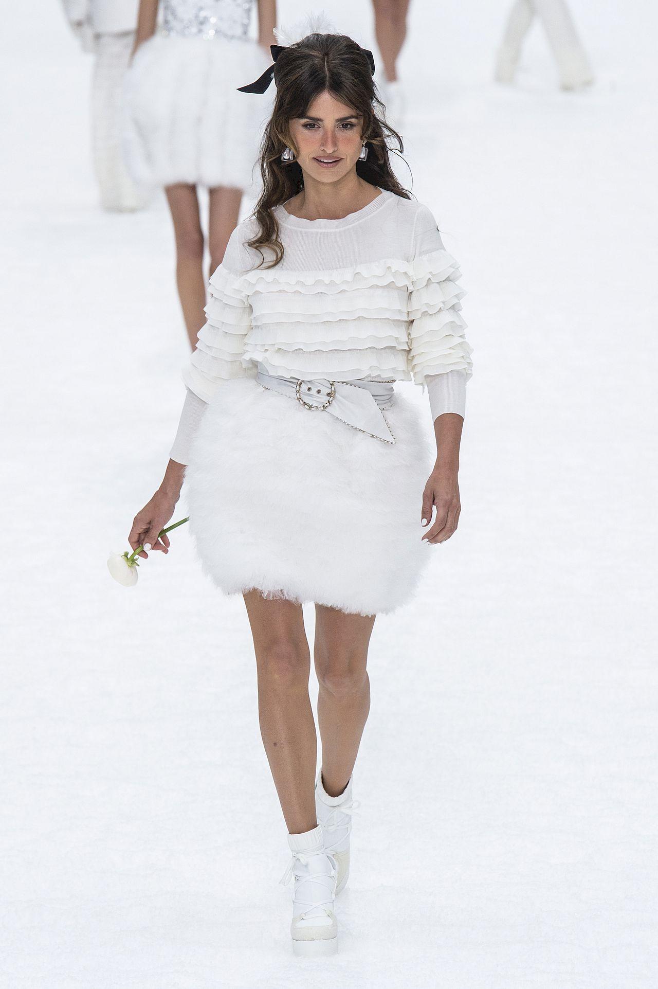 Chanel show at Paris Fashion Week Autumn Winter 2019