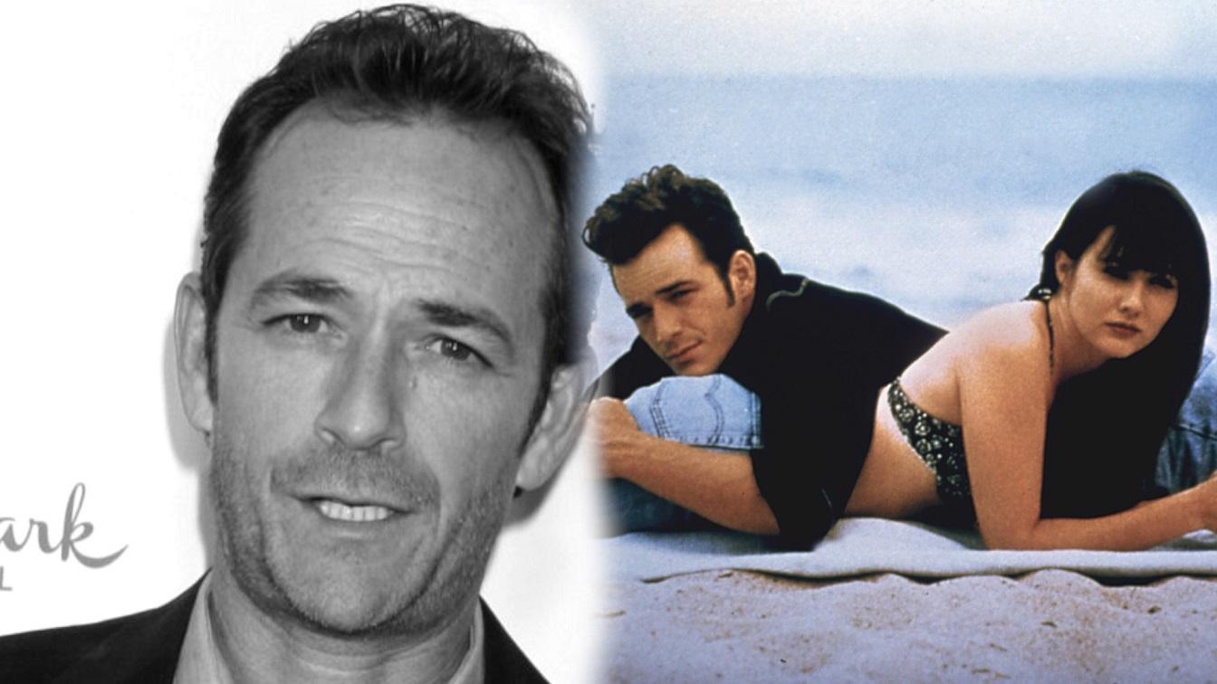 Gwiazdy żegnają Luka Perrego z Beverly Hills 90210