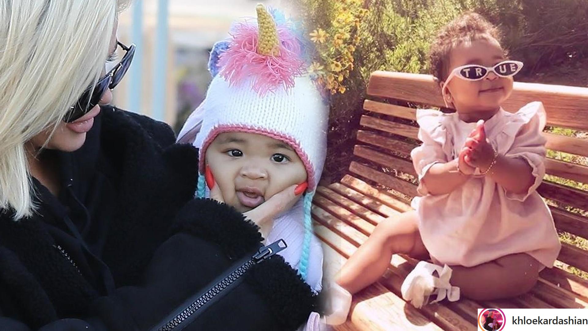 Córka Khloe Kardashian, True skończyła ROK! Tak się zmieniła (ZDJĘCIA)