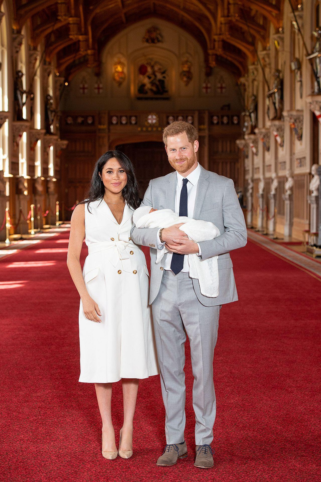 Meghan Markle i książę Harry pokazali syna
