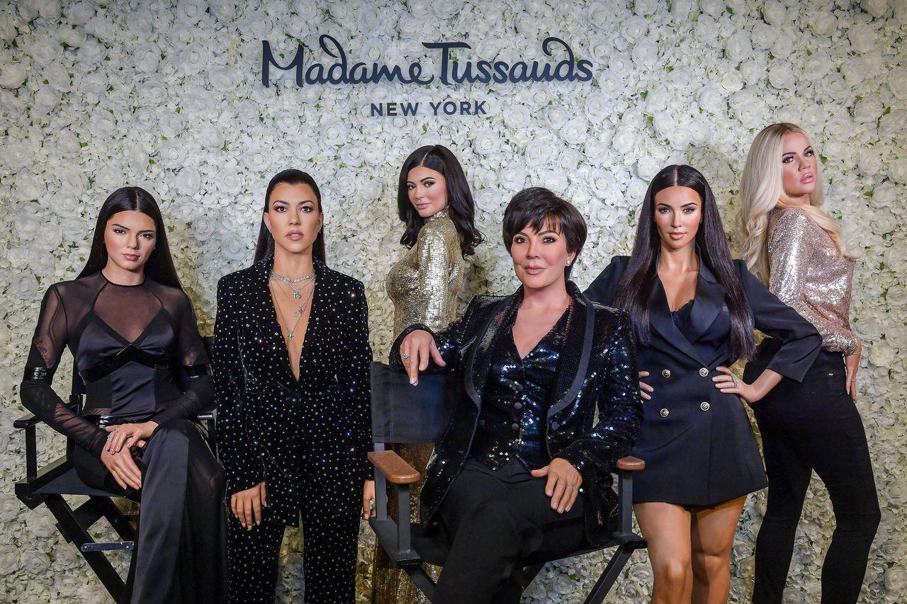 Klan Kardashian - Jenner w muzeum figur woskowych