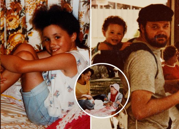 Meghan Markle na starych zdjęciach ojca