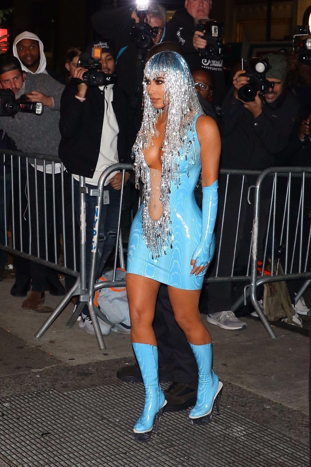 Kim Kardashian na Met gala afterparty