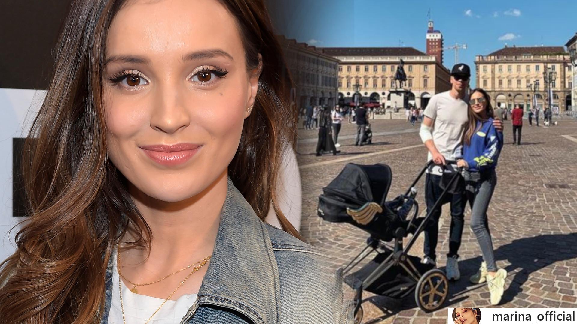 Syn Mariny i Wojtka Szczęsnego, Liam bardzo urósł – będzie podobny do taty?