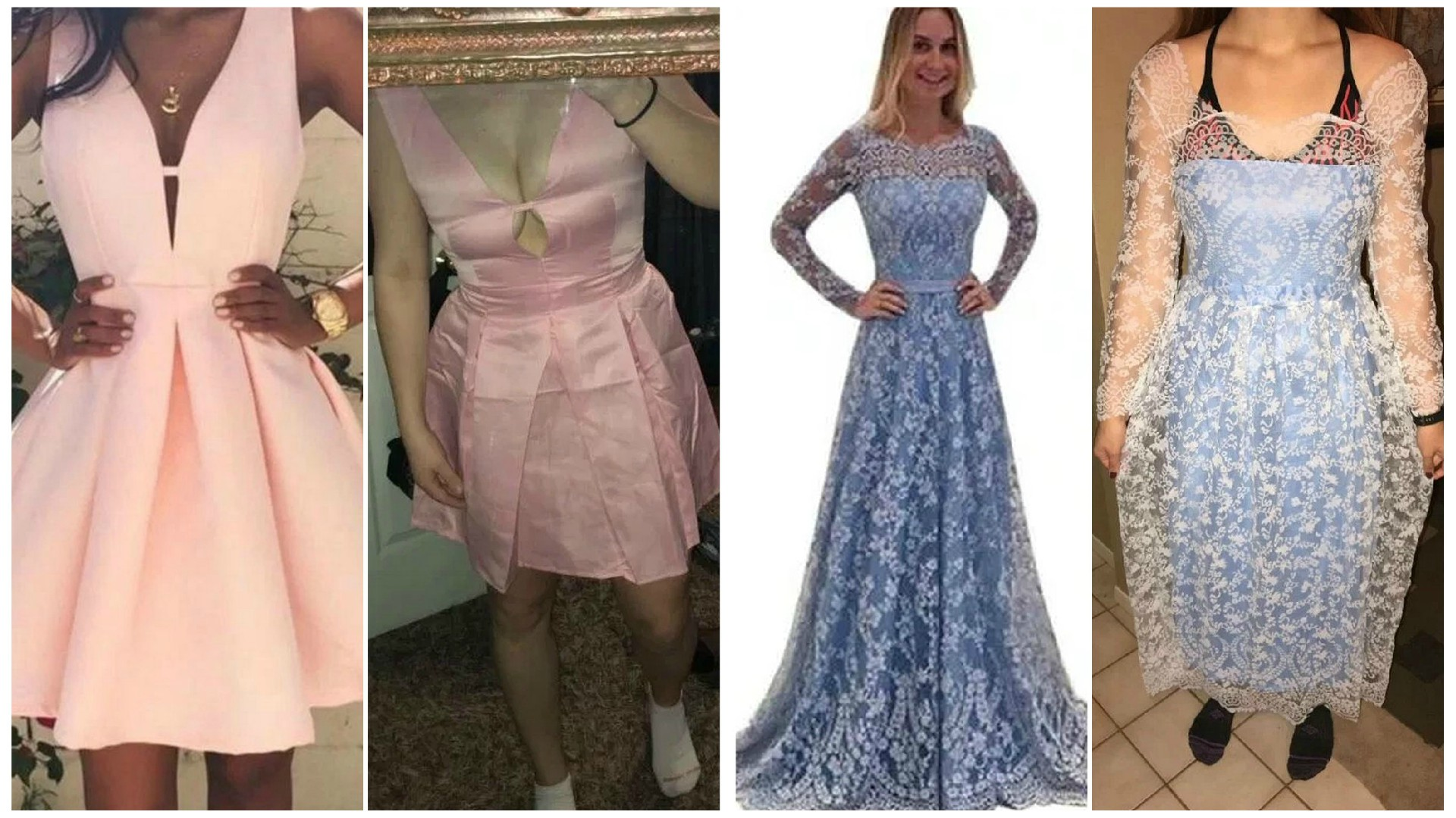 Chciały mieć PIĘKNE sukienki na studniówkę – OTO, co przyszło w paczce