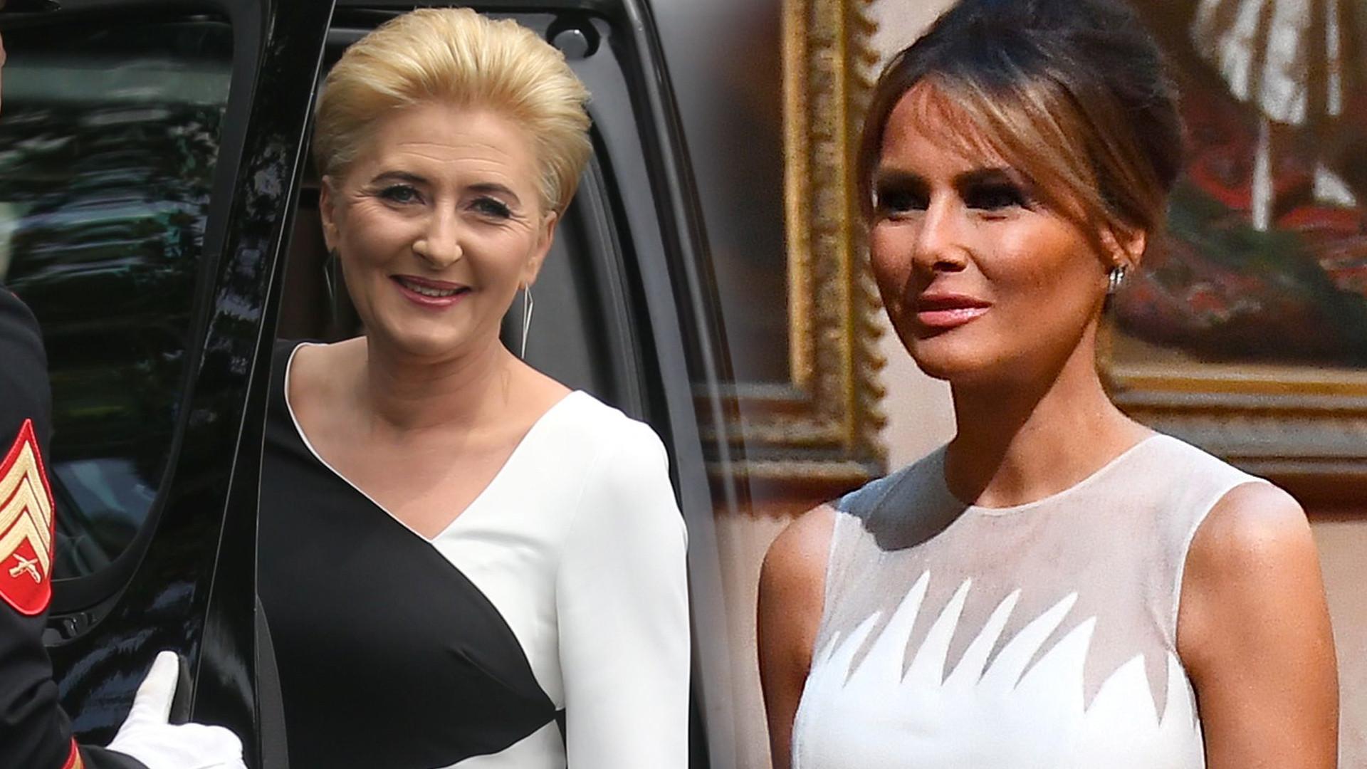 Zaskakujące SŁOWA Melanii Trump na temat Agaty Dudy