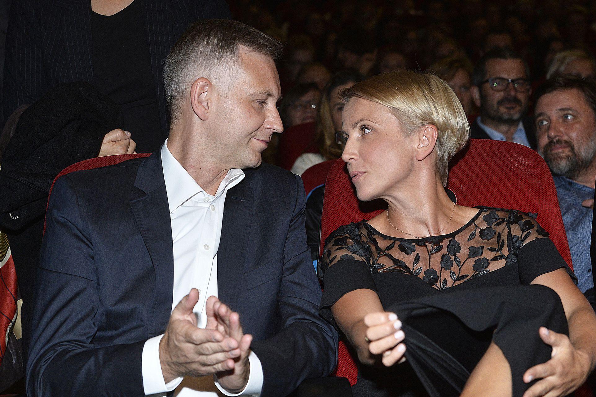 Kasia Zielińska z mężem, Wojciechem Domańskim - pobrali się w 2013 roku.