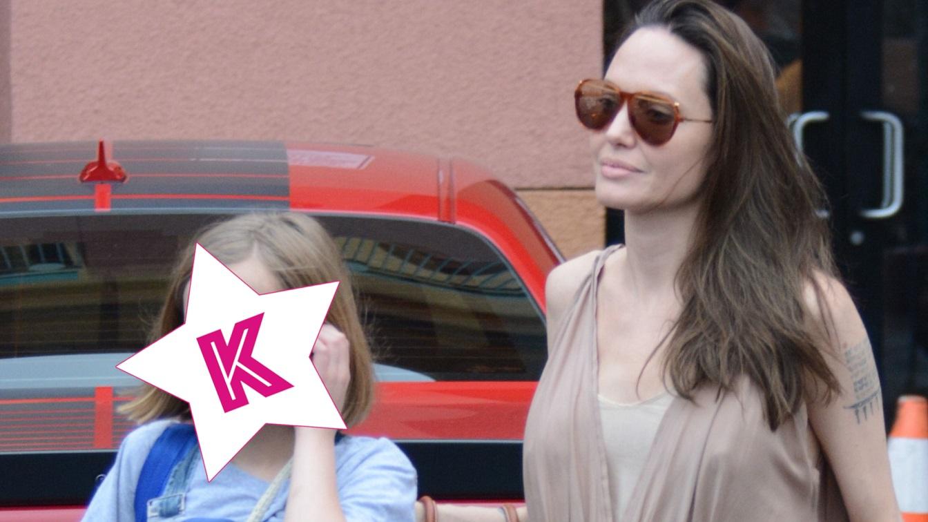 Angelina Jolie na zakupach z córką Vivienne – Ale ona jest już duża! (WIDEO)