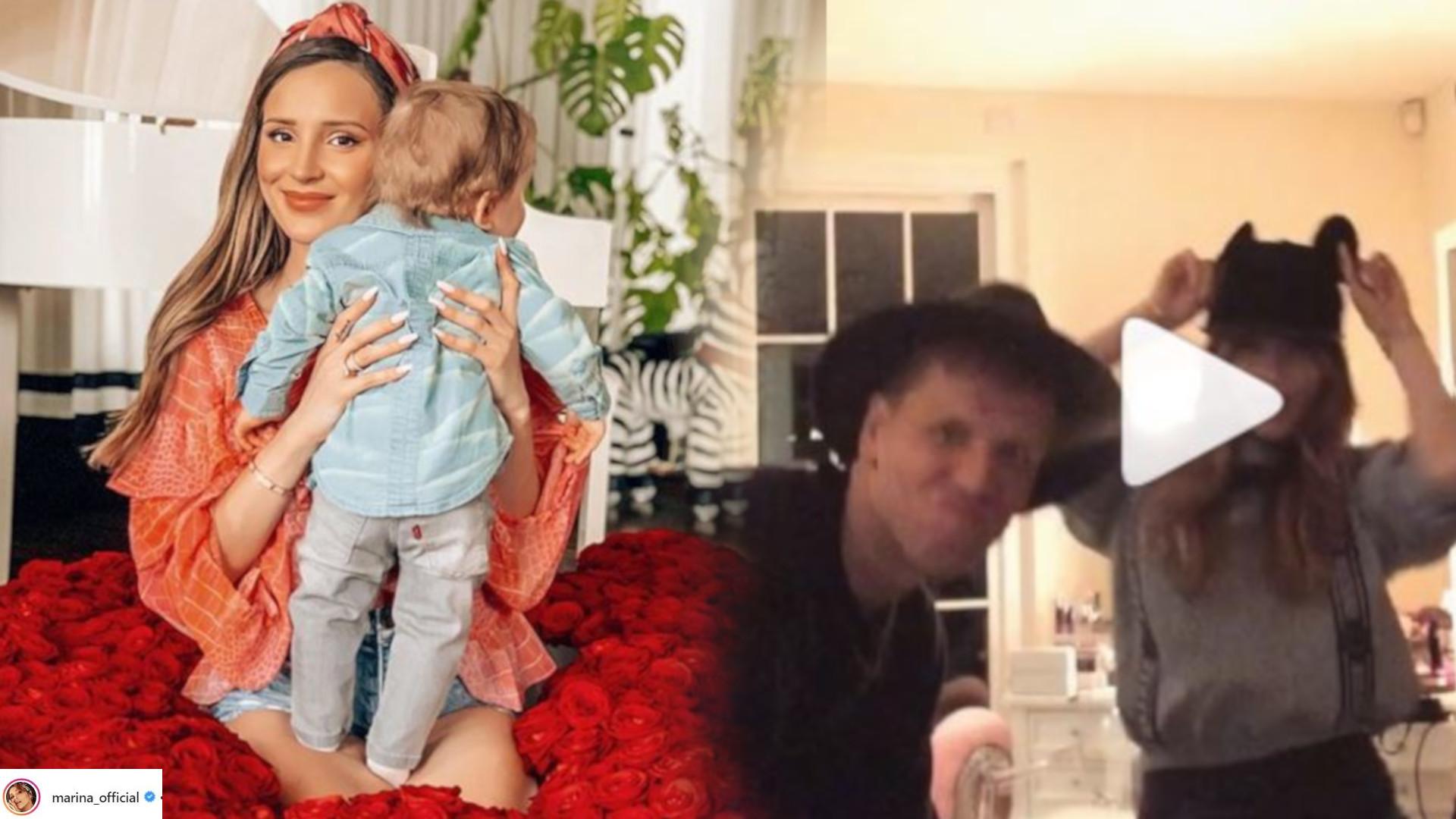 Fani pękają ze śmiechu! Marina i Wojciech z okazji Dnia Dziecka zrobili coś nietypowego (VIDEO)